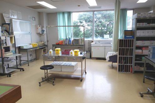 9.病院1棟貸しスタジオ|ナースステーション