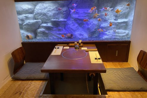6.浅草・居酒屋|個室(水槽付き)