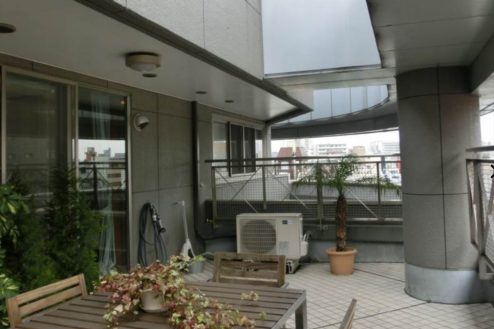 29.新宿2丁目マンションスタジオ|バルコニー