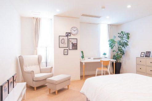 22.紀尾井町マンションスタジオ|寝室