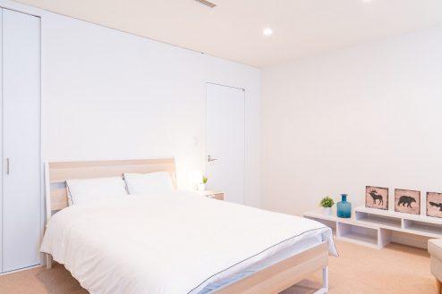 24.紀尾井町マンションスタジオ|寝室