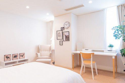 25.紀尾井町マンションスタジオ|寝室