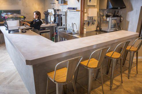 1.カフェ&花屋|店内