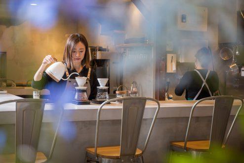 15.カフェ&花屋