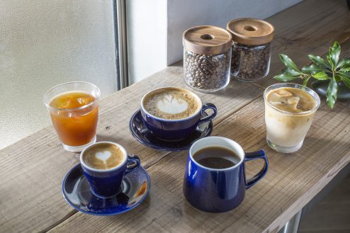 8.カフェ&花屋|ドリンク