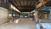 KONARAHOUSE 第二工場|空き屋・俯瞰・大型車両通行・電気・ネガティブ・自然