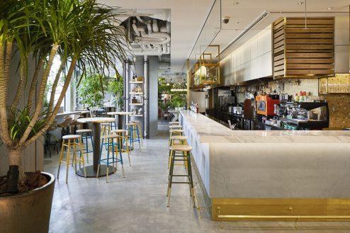 8.カフェ&ワークラウンジ|カフェエリア