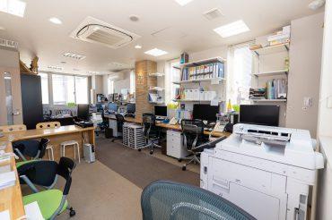 蒲田T社オフィス|スタジオ・会議室・階段・エレベーター・ルーフットプ・屋上|東京