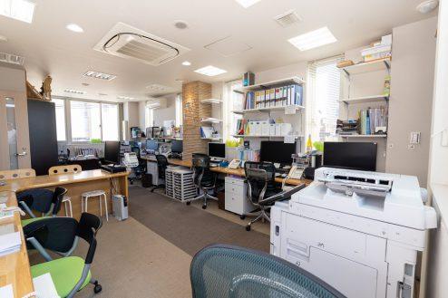蒲田T社オフィス スタジオ・会議室・階段・エレベーター・ルーフットプ・屋上 東京