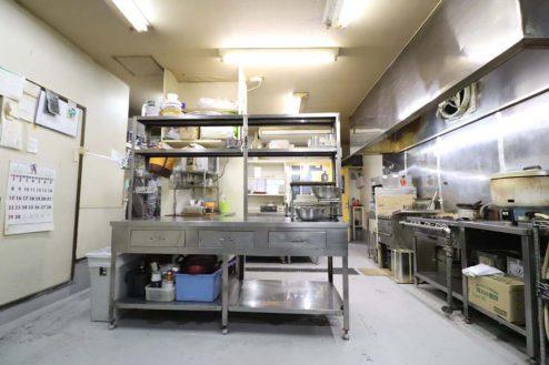 13.23区内の弁当屋|厨房