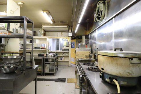 19.23区内の弁当屋|厨房