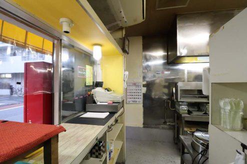 26.23区内の弁当屋|厨房・レジカウンター