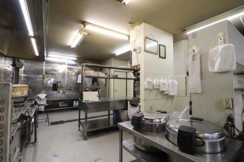 17.23区内の弁当屋|厨房