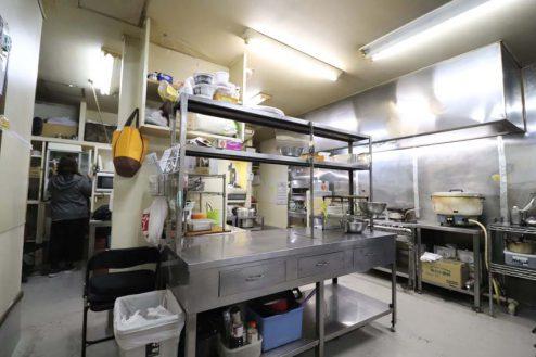 16.23区内の弁当屋|厨房