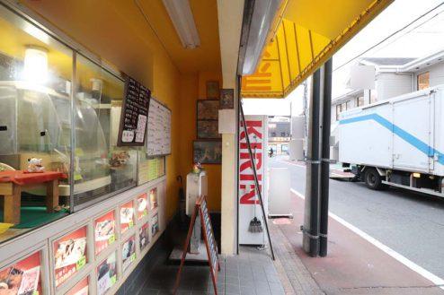 4.23区内の弁当屋|店舗前