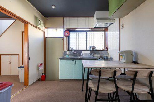 1.柴又ゲストハウス|ダイニングキッチン