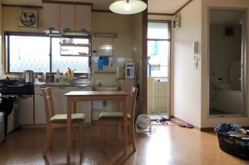 1.小柳町アパート ダイニングキッチン