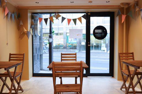 4.南長崎シェアキッチン|室内・飲食スペース