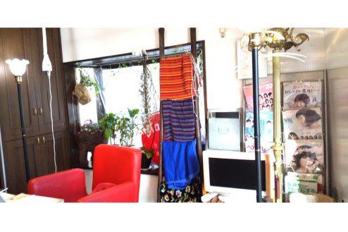 3.小さな美容室|店内