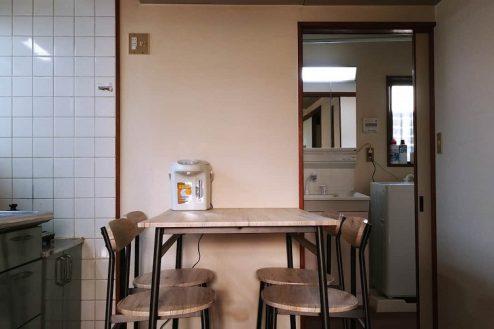 4.柴又ゲストハウス|ダイニングキッチン