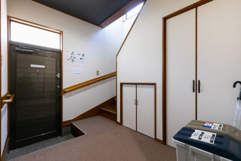 14.柴又ゲストハウス|玄関