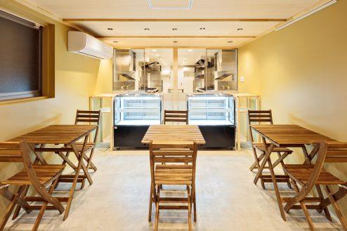 1.南長崎シェアキッチン|室内・飲食スペース