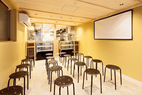 2.南長崎シェアキッチン|室内・飲食スペース