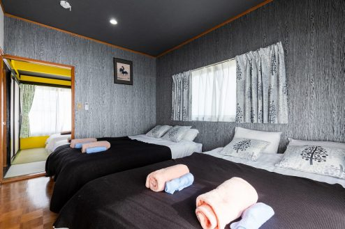 8.柴又ゲストハウス|ベッドルーム(洋室)