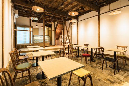 1.大山町シェアキッチン|室内・飲食スペース
