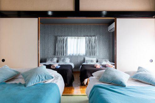 10.柴又ゲストハウス|ベッドルーム(2間続き可能)