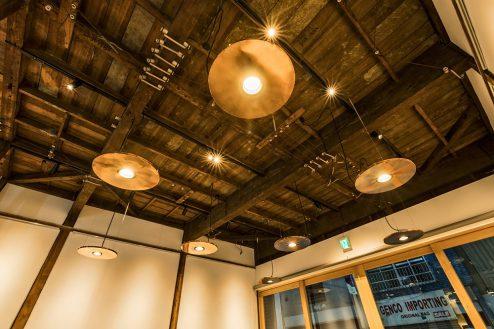 4.大山町シェアキッチン|室内・天井