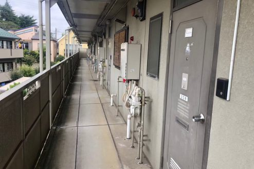 8.小柳町アパート 共用部・入口前通路・廊下