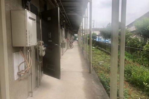 9.小柳町アパート 共用部・入口前通路・廊下