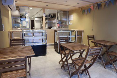 3.南長崎シェアキッチン|室内・飲食スペース