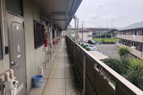 10.小柳町アパート 共用部・入口前通路・廊下