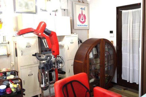 4.小さな美容室|店内