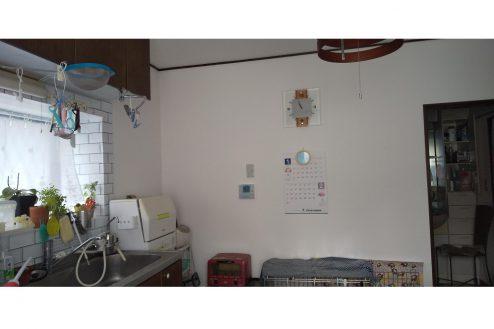 11.小さな美容室|キッチン