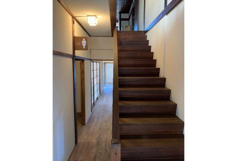 22.旅館・うり坊|大正館・階段