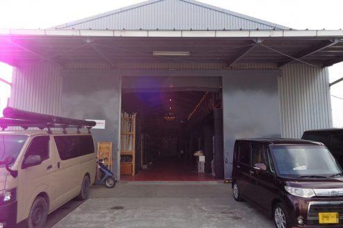8.格闘場・ホール・与野基地|倉庫スタジオ外観