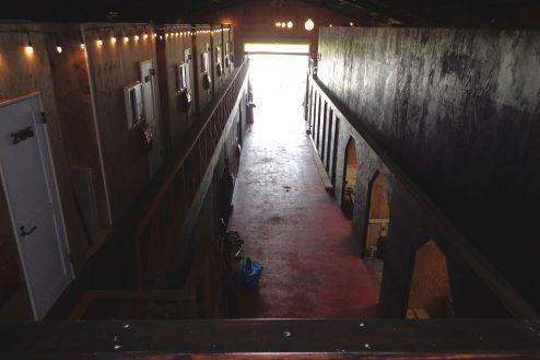 10.格闘場・ホール・与野基地|倉庫スタジオ内
