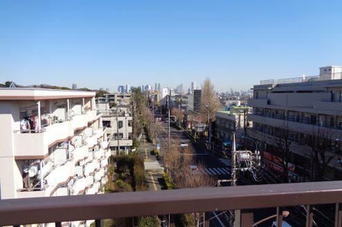 5.マンション屋上・杉並区|新宿方面・方南通り