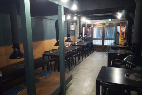3.調布市の韓国料理・焼肉店|店内