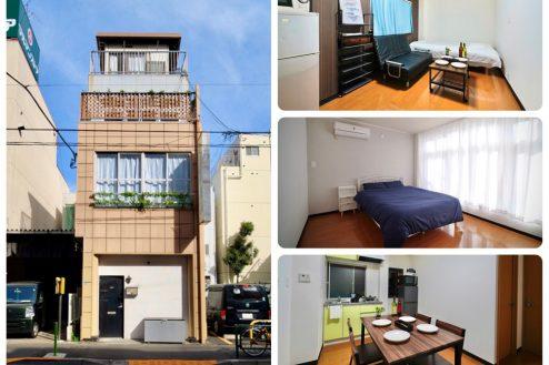 中野1棟スタジオ(3508)|ハウススタジオ・リビング・洋室・バルコニー・貸切り|東京