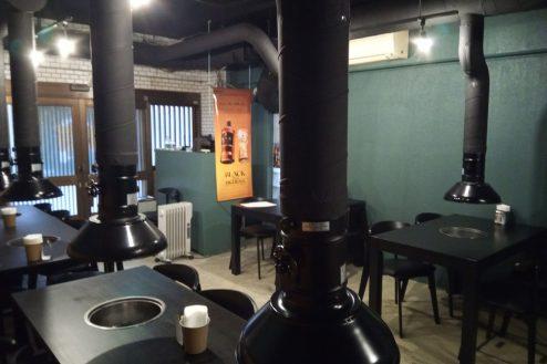 5.調布市の韓国料理・焼肉店|店内