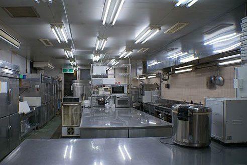 28.歴史的建築の高級和風レストラン|厨房