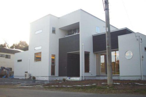 1.洒落たデザインの新築戸建|外観