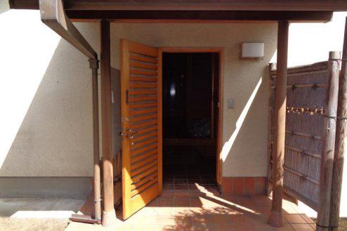 7.練馬・一軒家スタジオ 玄関入口