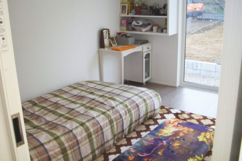 33.洒落たデザインの新築戸建|寝室