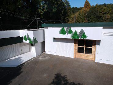 森の中の撮影スタジオ(3509)|白ホリ・モザイクウッド・自然・山・ドローン