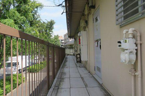 3.大泉学園アパート1 共用部・通路